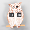 ABS Owl Flip Clocks für Decor
