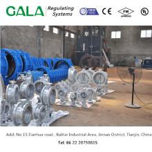 Excêntrico dn150 válvula de borboleta novos produtos na china
