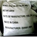White Crystal Powder 99% Min Boric Acid para Reagent Grade