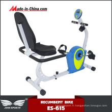Vélo d'exercice elliptique couché