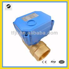 220VAC CWX-15Q/N series motorized motor ball valve with actuator