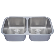 Undermount Double Bowl 18 Gauge Stainless Steel Sinks