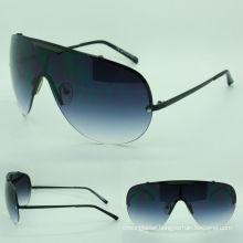 goggle trendy metal sunglasses(03071 c9-427)