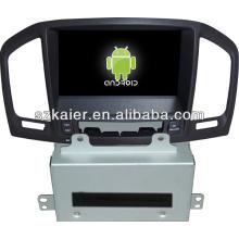 Système Android dans le lecteur dvd de voiture de tableau de bord pour Opel Insignia / Buick Regal avec GPS / Bluetooth / TV / 3G / WIFI