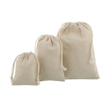 Natural color jute gift bag cheap sale