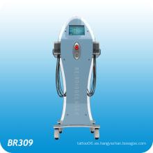 Lipo delgado vertical del sistema Lámpara de doble longitud de onda Lipo Láser de diodos Liposuction máquina Br309