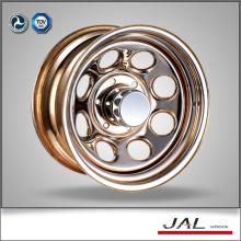 Modular Shiny Chrome Wheels 4x4 Wheels Rims Trailer Wheel Rim