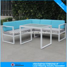 Fashion garden furniture rattan sectional sofa set