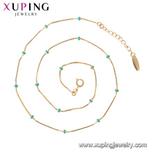 44826 Xuping fashion necklaces women jewelry, beaded necklaces for women jewelry