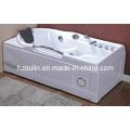 White Acrylic Sanitary Whirlpool Massage Bathtub (OL-634)