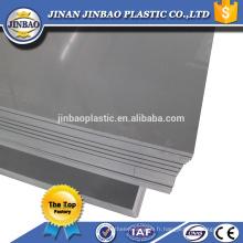 """48 """"x 96"""" blanc gris rigide en plastique pvc feuille fabricants"""