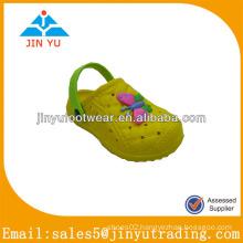 JY-S15267 yellow girls eva garden shoes