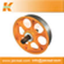 Elevador Parts| Roda de ferro fundido defletor polias Manufacturer|elevator elevador