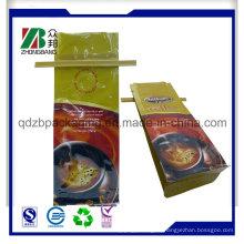 Четырехкупольная упаковка для перерабатываемого кофе с жестяной связкой