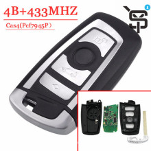 Top quality car key  remote key  4 button 315/434/868 MHZ