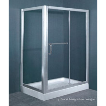 Australian Standard AS/NZS2208 Tempered Glass Aluminum Frame Walk in Enclosure Shower Tray (H005)