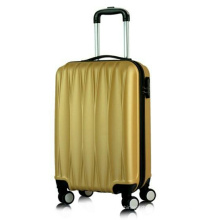 Hard Shell 4 Wheel Suitcase ABS Luggage Trolley Case Luggage