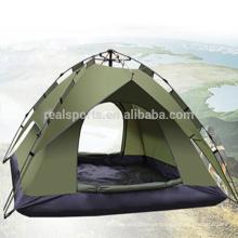 Barracas de acampamento da barraca da barraca da família 3-4 povos que acampam o equipamento