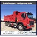 2016 venta caliente 6 * 4 camión volquete de HOWO A7