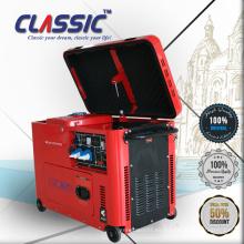 CLASSIC (CHINA) Generador Diesel de una sola fase 4Kva, 4Kva Generador Diesel Silencioso Portátil, 4KVA Generador Diesel Silencioso Súper