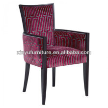 antique wooden arm chairs with classic fabric pattern XY2661#
