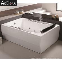 deep double whirlpool apron bath tub bathtub
