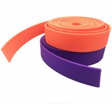 Width 30mm Soft PVC Plastic Coated Polyester Webbing for Rehabilitation Belt