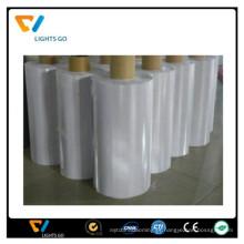 película decorativa reflexiva transparente de lcd / PVC sheeting