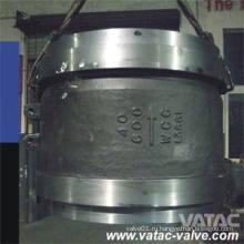 Литой стальной Межфланцевый из нержавеющей пластины или осесимметричные обратные клапана