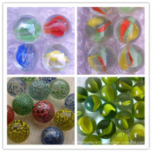 Brand new glass marbles with high quality