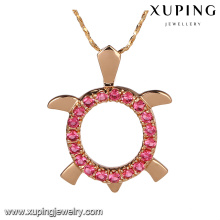 31444-Xuping Jewelry Fashion 18K colgante chapado en oro de los encantos