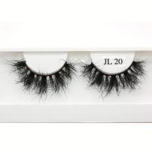 ZW5CF21 Hitomi High Quality Mink Lashes Luxury Styles false eyelashes private label Fluffy real 21mm mink eyelashes