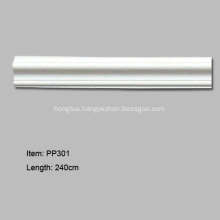 Polyurethane Architectural Decorative Chair Rail and Panel Moulding
