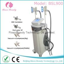 Bsl900-1 2 poignées de cryolipolyse Cavitation RF Fat Freezing Slimming Machine