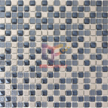 Titanium Wall Used Crystal Glass Mosaic (TC407)