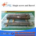 Bimetallic Conical Twin Screw Barrel For plastic extruder
