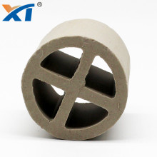50mm 80mm 100mm 120mm industrial ceramic cross partition ring chemical random tower packing
