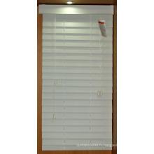 Lame à bois à fenêtre 50 mm avec système Regency (SGD-Blind-6534)