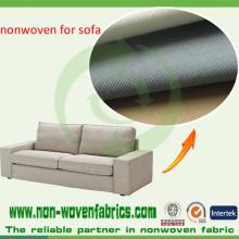Les tissus non tissés de pp approuvés par essai d'Ikea au sofa de ligne