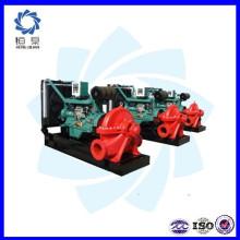 Conjunto de bomba de água do motor diesel portátil / preço do conjunto de bomba de água diesel