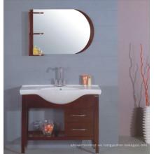 Muebles del gabinete de cuarto de baño de los 100cm (B-202B)