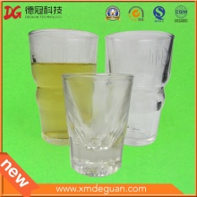 Transparent Tall Plastic Cup for Drinking