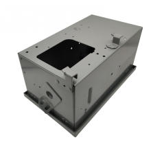 Procesamiento de gabinetes de chapa metálica galvanizada para cables eléctricos