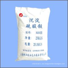 325 Sulfato en malla polvo precipitado Bario