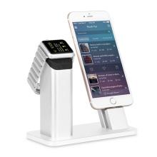 2 in 1 Ladegerät Lade Dock für Apple Iwatch für iPhone Se 7 7s 6 6s Plus
