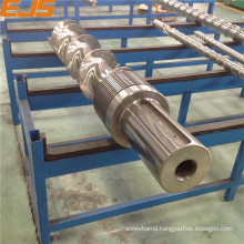 For sale 38CrMoAla bimetallic or nitrided rubber screw and barrel