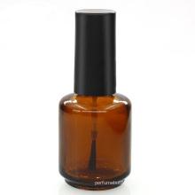 customizable 5ml 8ml 10ml 15ml amber nail polish glass bottle