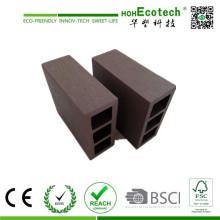 Decoração exterior quadrada do estilo WPC que decora o Decking