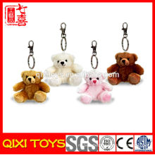 wholesale bear mini plush stuffed bear keychain