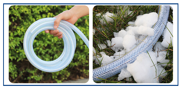 pvc braid hose advantages